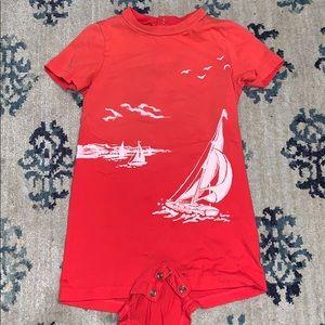 🌺NWOT- Ralph Lauren shorts outfit onesie